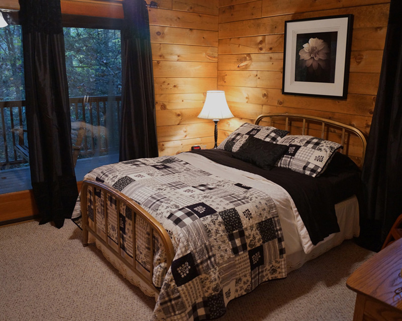 Treehouse Master Bedroom